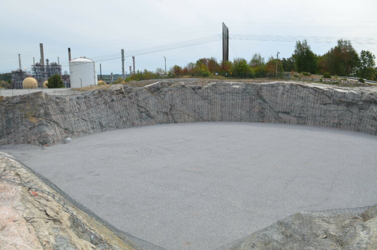 Ground preparations for a new purpose-built, fully refrigerated ethane tank at Borealis site in Stenungsund have started.