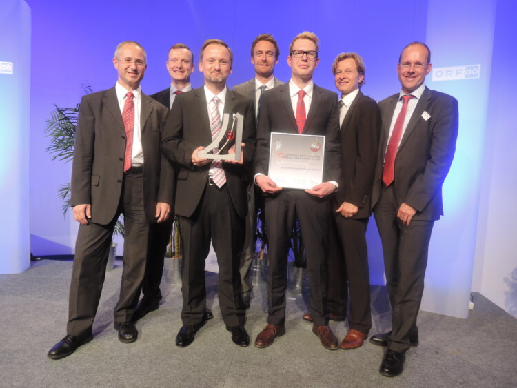V.L.N.R.: Alfred Stern, Maurits van Tol, Andreas Haider, Thomas Lummerstorfer, Lukas Sobczak, Hermann Braun, Boris Hultsch.