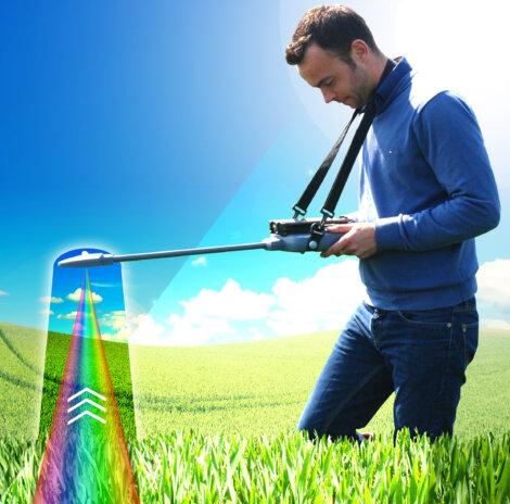 Mit dem N-Pilot® können Landwirte den tatsächlichen Stickstoffbedarf ihrer Kulturen schnell und unkompliziert direkt im Feld feststellen.