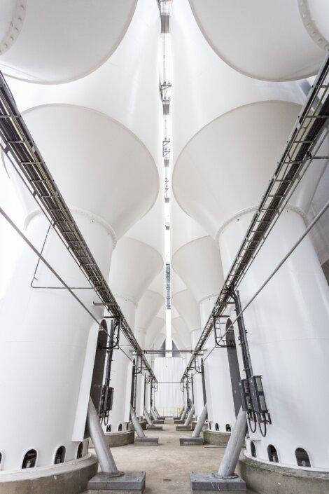 Spezialisiterte Lagerräume für Queo PO Elastomere in Borealis' Plastomer- und Elastomer- Produktionsanlage in Geleen, Niederlande.