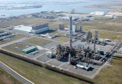 Borealis Produktionsstandort in Kallo, Belgien