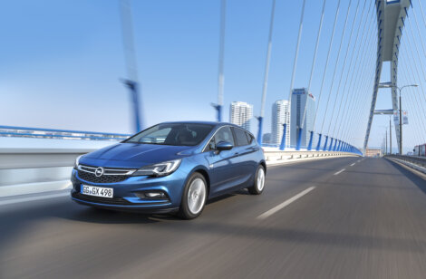 The Opel Astra has been named as the 2016 European Car of the Year