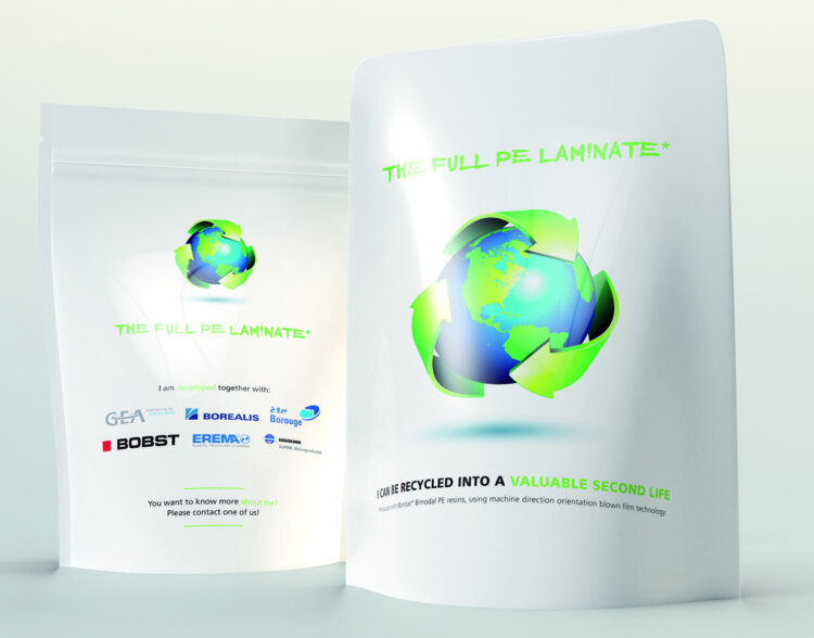Full Polyethylene (PE) Laminate pouch