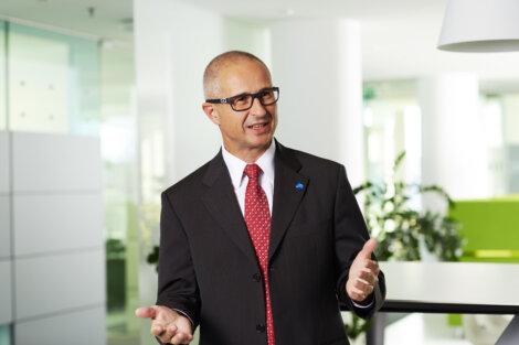 Alfred Stern, Borealis Vorstandsmitglied für Polyolefine und Innovation & Technologie