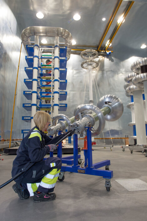 Photos: Newly expanded Borealis High Voltage Testing Centre in Stenungsund, Sweden