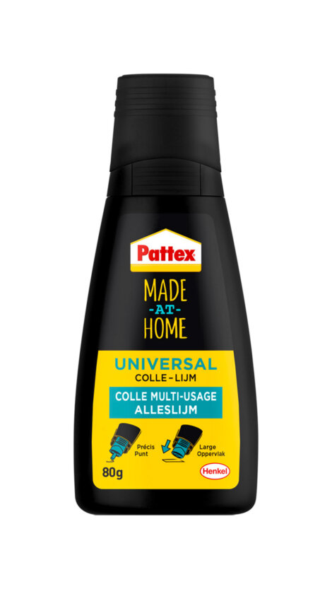 Photo: Henkel's Pattex Made at Home plastic bottle and nozzle composed of 100% PCR material