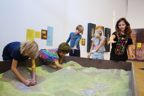 "The new ""EARTH & SOIL"" interactive exhibition at ZOOM Children's Museum"