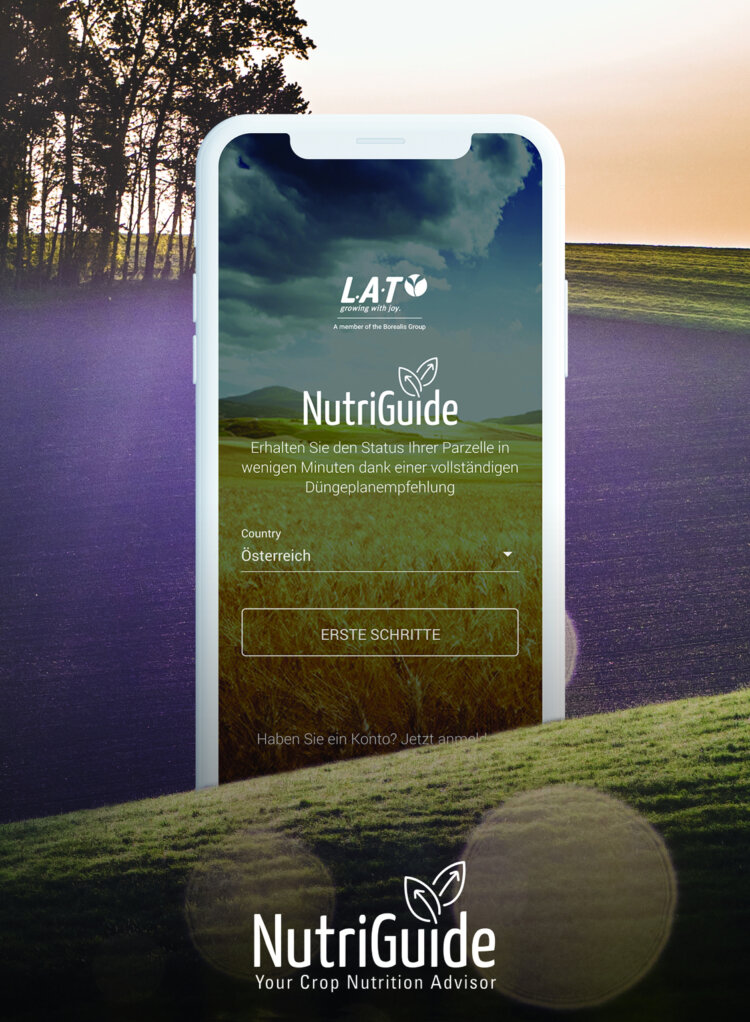 Photo: Borealis L.A.T launches NutriGuide, a new digital tool to optimise crop nutrition
