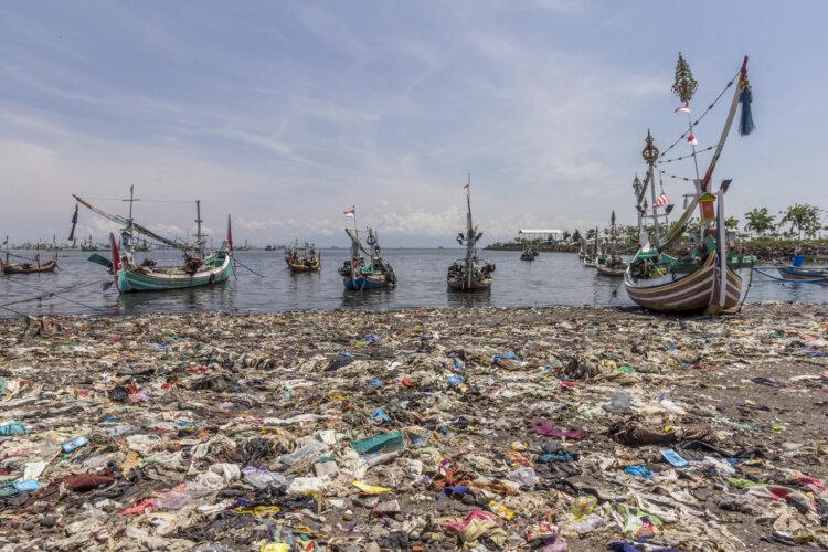 Foto: Fischerhafen in Muncar, Ost-Java, Indonesien