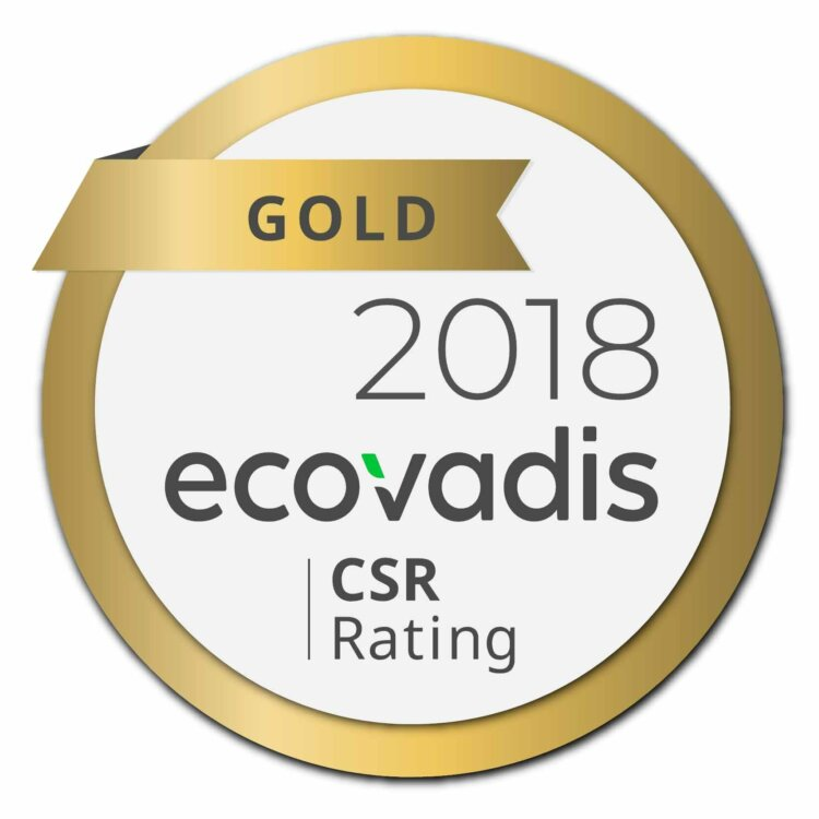 EcoVadis Gold CSR Rating