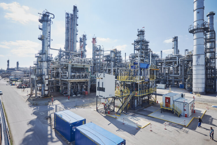 photo: OMV ReOil Pilot Plant
