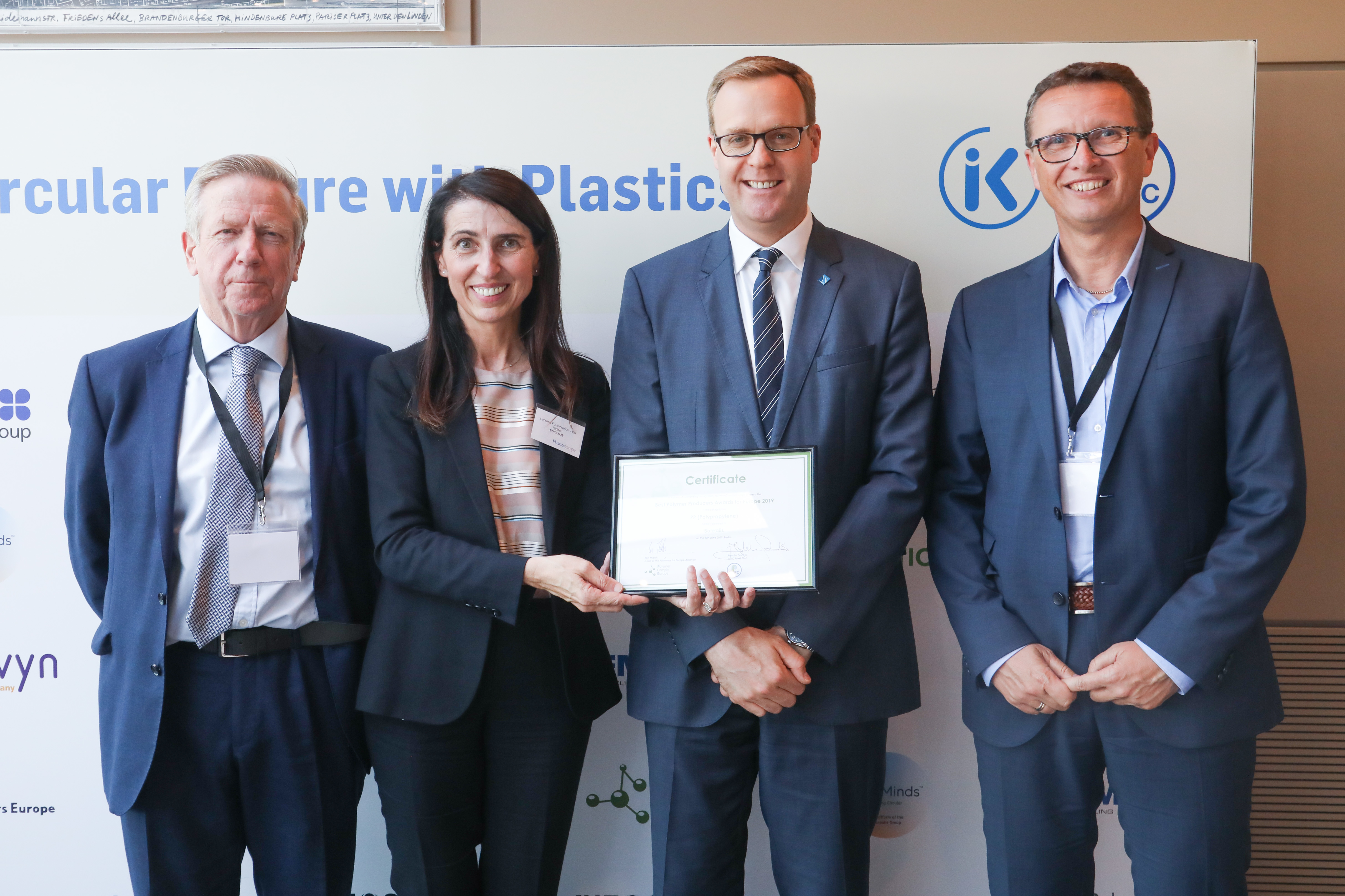 Polymers for Europe Alliance honours Borealis as best European