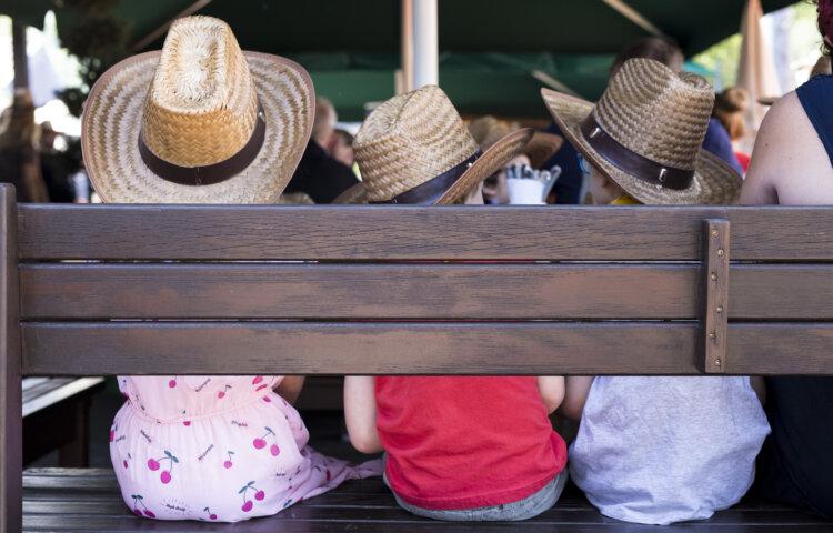 """Das 10. BALU Sommerfest stand unter dem Motto """"Wilder Westen""""."""