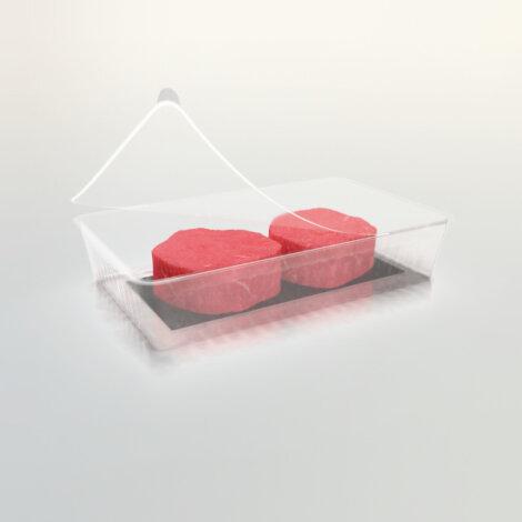 Foto: Wegweisende Borealis-Innovation ist eine praktikable und nachhaltigere  Alternative zu Einwegverpackungen für Fleisch und Milchprodukte