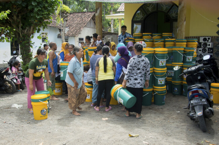 Foto: Projekt STOP hilft bei der Prävention von Meeresmüll in Indonesien