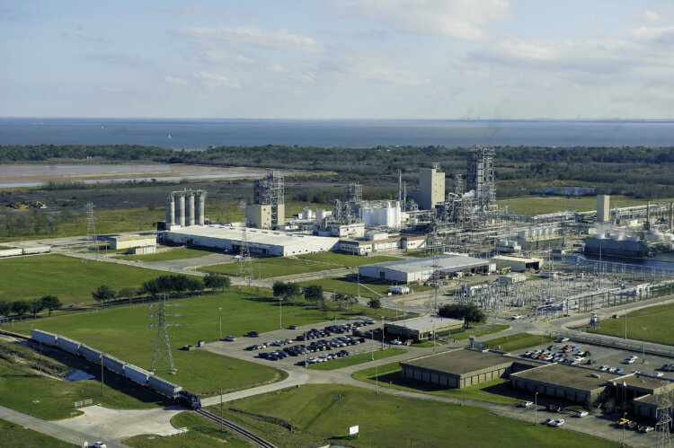 photo: Bayport Polymers Baystar Aerial View