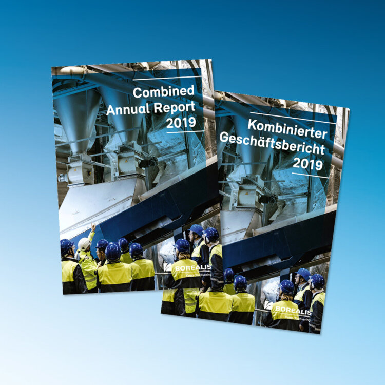 Borealis' Combined Annual Report 2019 Covers
