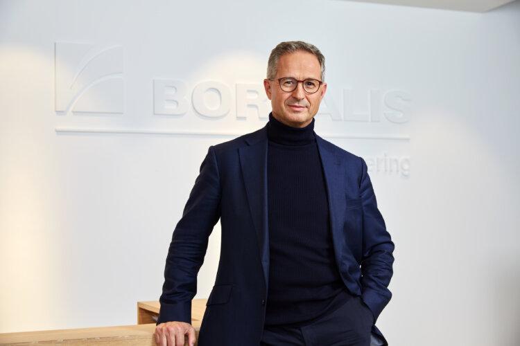 Photo: Borealis CEO Alfred Stern