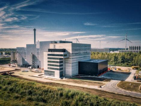 Photo: Biostoom Waste Energy Plant In Beringen Belgium