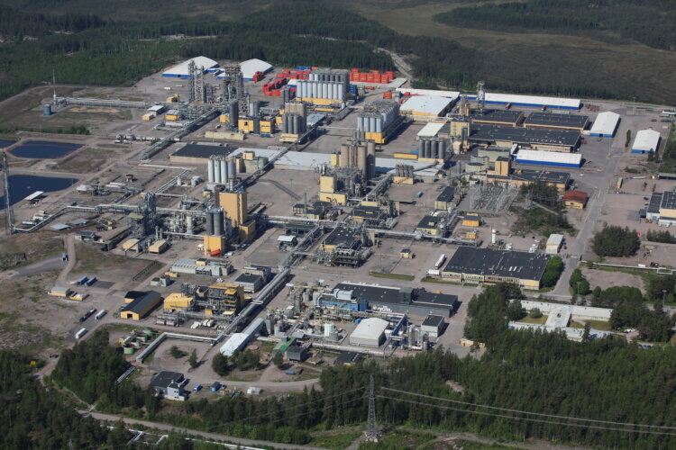 Photo: Borealis announces it is investing EUR 17.6 million in a new  Regenerative Thermal Oxidizer (RTO) for its polyolefins plants in Porvoo, Finland.