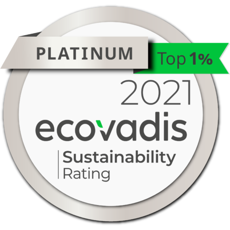 Borealis is proud to have achieved the Platinum Medal in the annual EcoVadis assessment of corporate social responsibility (CSR) for the first time.