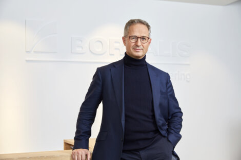 Photo : Borealis CEO Alfred Stern Stern